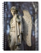 Angel Statue Spiral Notebook