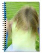 Angel Swing Spiral Notebook