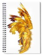 Angel Wings Spiral Notebook