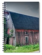 Angelica Barn In Hdr Spiral Notebook