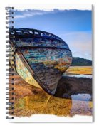 Anglesey Shipwreck Spiral Notebook