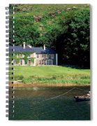 Angling, Delphi Lodge, Co Mayo, Ireland Spiral Notebook