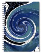 Angry Ocean Spiral Notebook