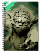 Angry Yoda Spiral Notebook