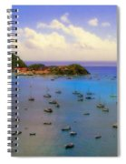 Anguilla's Softness Spiral Notebook