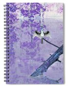 Anhinga Japanese Style Spiral Notebook