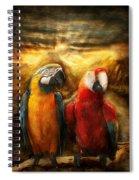 Animal - Parrot - Parrot-dise Spiral Notebook