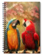 Animal - Parrot - We'll Always Have Parrots Spiral Notebook
