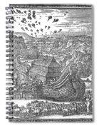 Animals Entering The Ark Spiral Notebook