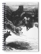 Animals Sick Of The Plague Spiral Notebook