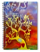 Ankh Roots Spiral Notebook