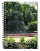 Annapolis Fountain Spiral Notebook