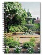 Annapolis Fountain Garden Spiral Notebook