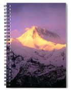 Annapurna South At Sunrise, Nepal Spiral Notebook