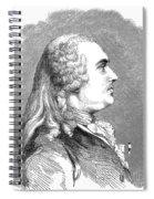 Anne Robert Turgot Spiral Notebook