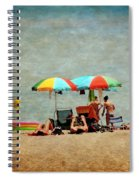 Another Day At The Beach Spiral Notebook