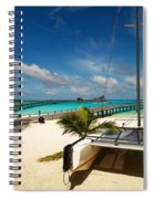 Another Day. Maldives Spiral Notebook