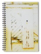 Another Old Urban Window Spiral Notebook