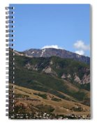 Another View Of Salt Lake City Spiral Notebook