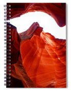 Antelope Canyon Skylight Spiral Notebook