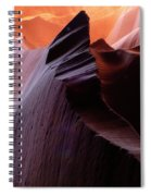 Antelope Canyon Story Of The Rock Spiral Notebook