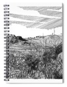 Anthony Gap New Mexico Texas Spiral Notebook