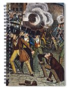 Anti-catholic Mob, 1844 Spiral Notebook