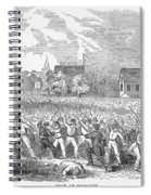 Anti-german Riot, 1851 Spiral Notebook