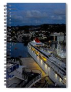 Antigua Dusk Spiral Notebook