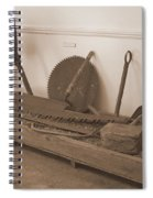 Antiquated Plantation Tools - 1 Spiral Notebook