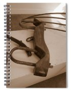 Antiquated Plantation Tools - 2 Spiral Notebook