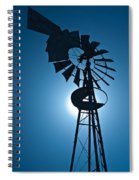 Antique Aermotor Windmill Spiral Notebook