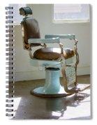 Antique Barber Chair Spiral Notebook