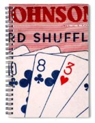 Antique Card Shuffler Spiral Notebook