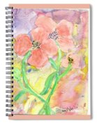 Antique Flowers Spiral Notebook