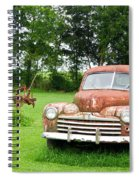 Antique Ford Car 6 Spiral Notebook