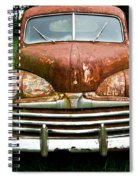 Antique Ford Car 8 Spiral Notebook