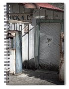 Antique Gas Pumps Spiral Notebook