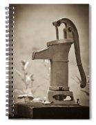 Antique Hand Water Pump Spiral Notebook
