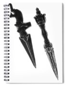 Antique Indian Fighting Dagger Spiral Notebook