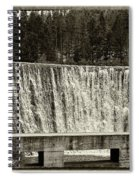 Antique Polish Waterfall Spiral Notebook