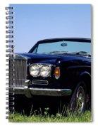Antique Rolls Royce Spiral Notebook