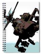 Apache Preparing To Attack Spiral Notebook