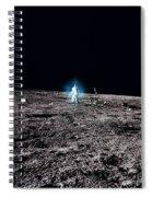 Apollo 12 Astronaut Spiral Notebook