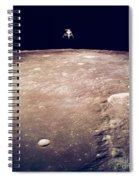 Apollo 12 Lunar Lander Spiral Notebook