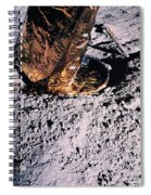 Apollo 14 Foot Pad Spiral Notebook