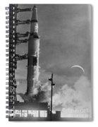 Apollo 8: Launch, 1968 Spiral Notebook