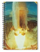 Apollo II Launch Spiral Notebook