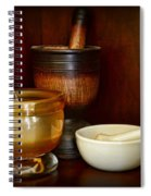 Apothecary - Mortars And Pestles Spiral Notebook