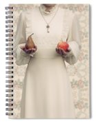 Apple And Pear Spiral Notebook